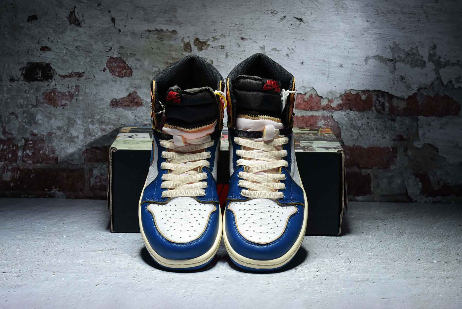 Union x Air Jordan 1 Retro High OG NRG Stom Blue BV1300-146