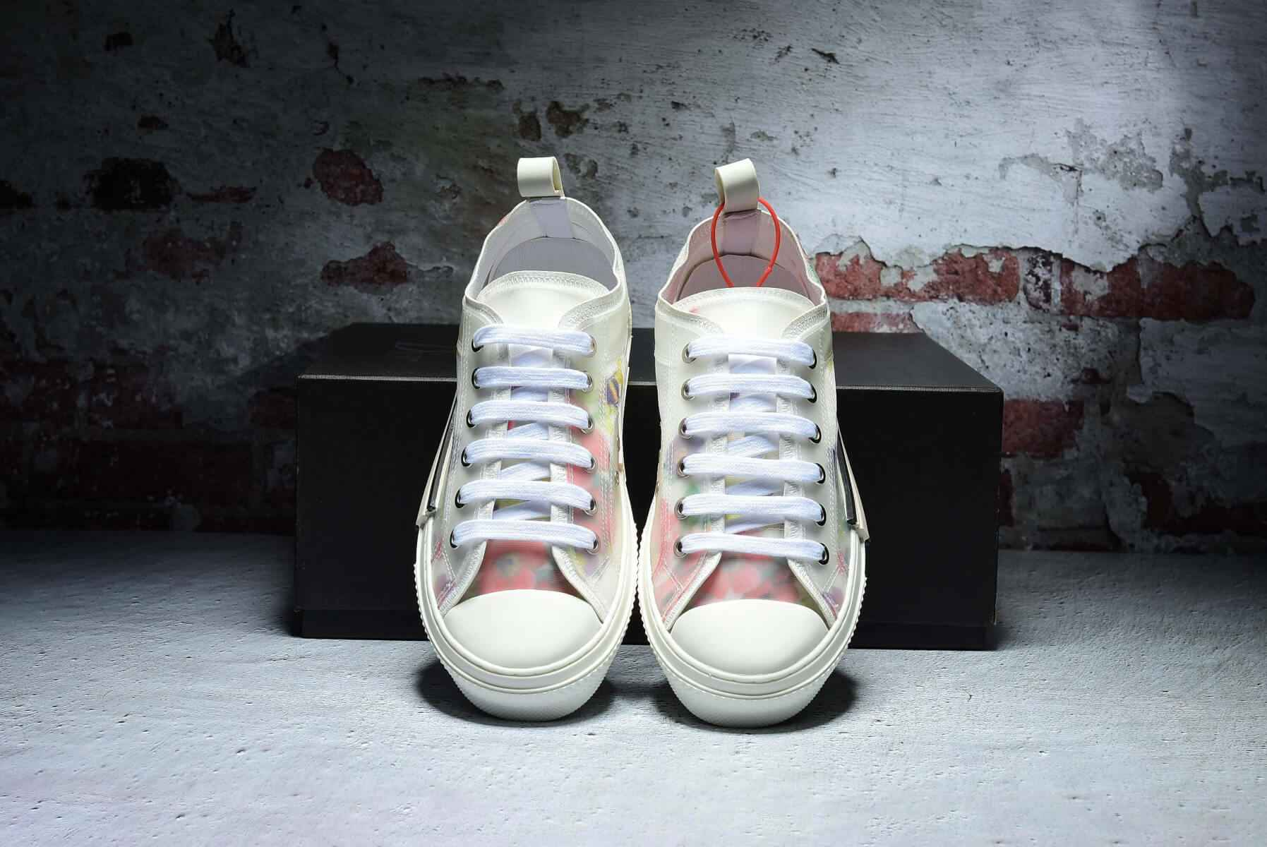 81bec413 Dior Flowers technical canvas B23 low-top sneaker 3SH118YJR_H063
