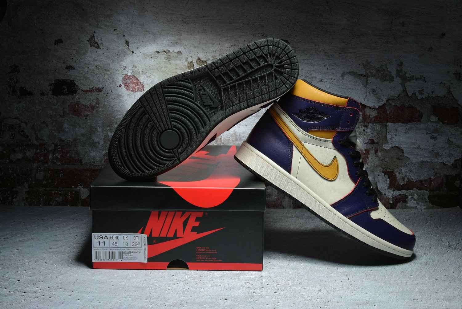 Nike X SB Air Jordan 1 Lakers